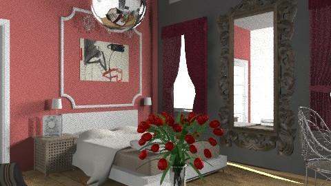 ado parisienne 1 - Eclectic - Bedroom  - by calu13