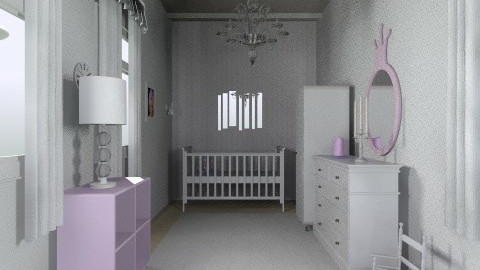 purple baby princess  - Modern - Kids room  - by RB12345