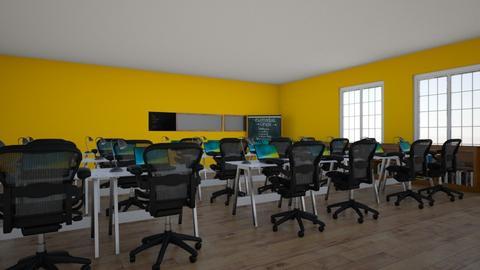 classroom - by saltwaterveins