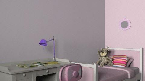 Kate and Annelise bedroom 2 - Feminine - Bedroom - by kashie13