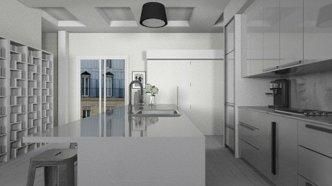 BxW - Modern - Kitchen - by josephinesw