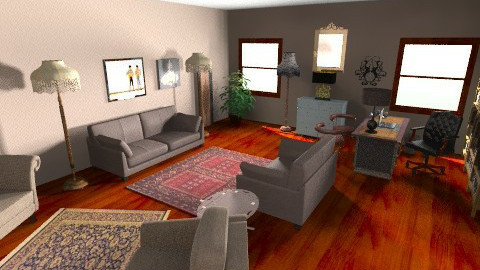 Office of psychology - Classic - Office  - by Gabriella Aloia