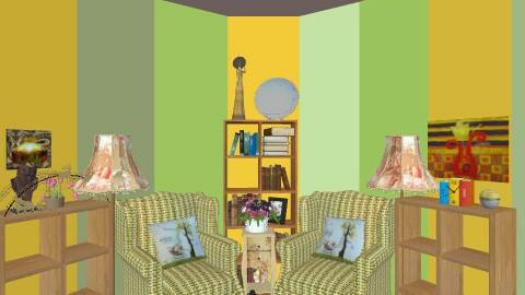 yello green - Vintage - by Raziya_Arshad