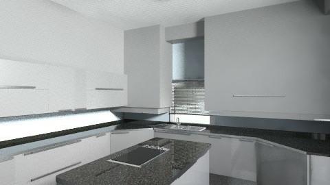 Modern Blue Kitchen - Kitchen - by SaraxDGoesRoarr