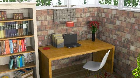 LogCabinStudy - Classic - Office  - by camilla_saurus