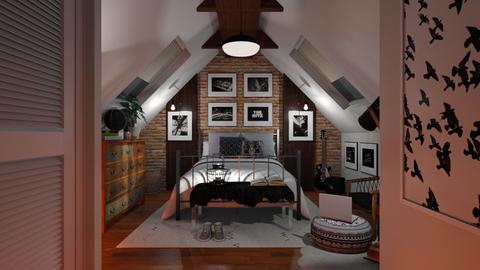 No Ordinary Life - Bedroom  - by rachaelp636