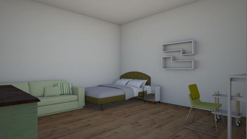 Charlotte dream room 1 - Retro - Bedroom  - by Victoriaslysh