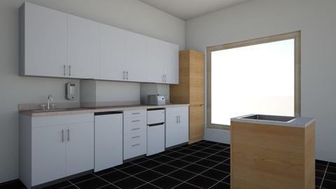 Cozinha e salade TV - Modern - Kitchen  - by claudiareis