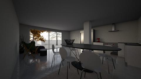 uitbouw_Iris4 - Kitchen  - by florisvd