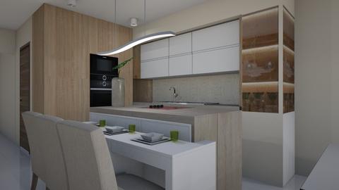 Bobak E - Modern - Kitchen - by szaboi