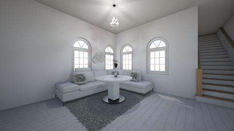 light n white - Living room  - by 7087755443