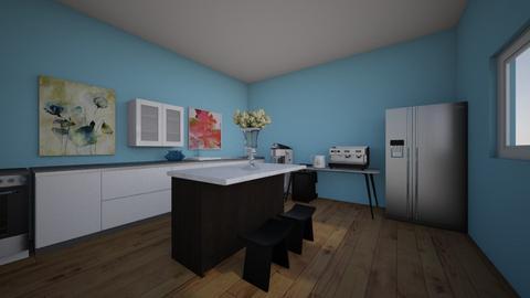 jovie kitchen - Kitchen - by SMITHFACS
