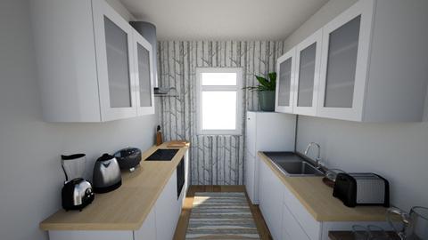 STUDIO KITCHEN - Kitchen - by Tiny_Bubbles