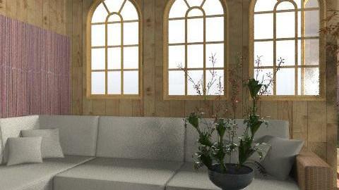 Garden indoor - Glamour - Garden  - by camidome