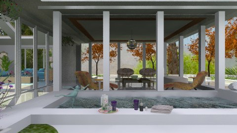 Spa House - Modern - Garden  - by Open Spaces