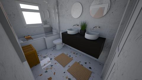 Main Bath - Modern - Bathroom  - by tiffanypham29