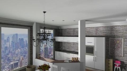12 - Modern - Kitchen  - by Ivana J