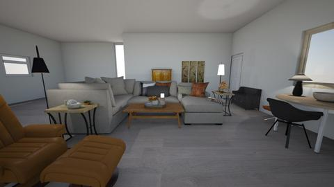 Great Rm wo Dining Rm - Retro - Living room  - by vedamoretti
