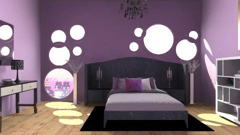Violet Dream - Glamour - Bedroom - by HGranger2