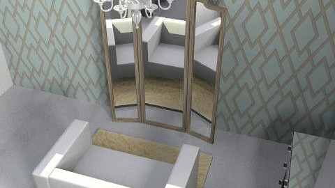 New Basement Bedroom - Glamour - Bedroom - by claire0212