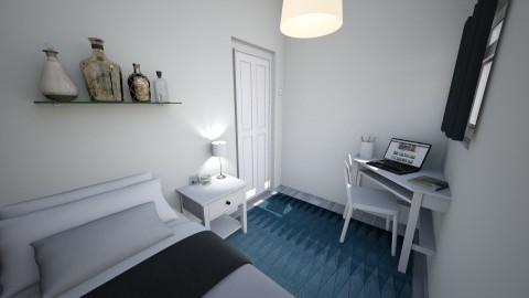 Final room design - Modern - Bedroom  - by El2002