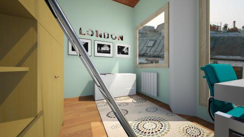 ed - Minimal - Bedroom  - by Helena Caccamo
