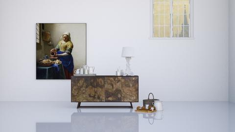 MILK - Minimal - Living room  - by HenkRetro1960