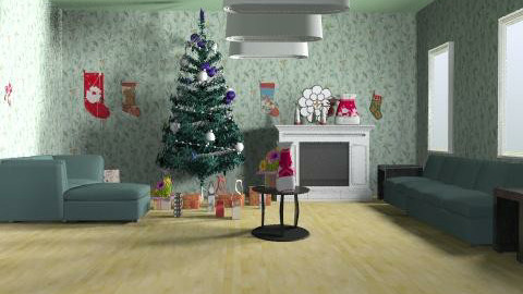 Christmas Room - Classic - by Mary Lee