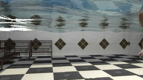 Bottom of the Pool - Garden  - by Bibiche