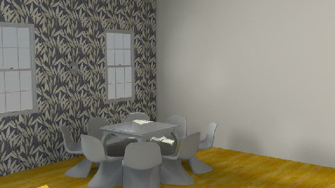 BLACK IS roro - Dining Room  - by fatfota