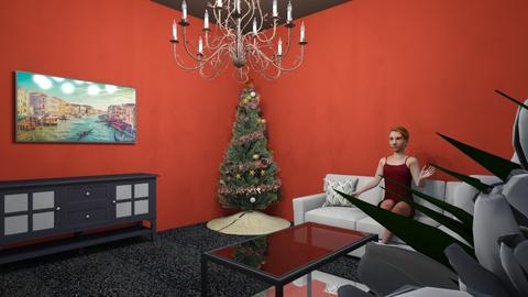 living room - by skygracee
