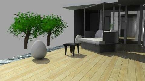 room(EB) BY VERANOS 01 pro. 01 - Classic - Garden  - by domuseinterior