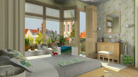 Spring Break - Bedroom - by Violetta V