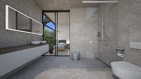 Casa152GuestBathroom - Classic - Bathroom  - by nickynunes
