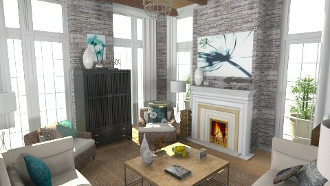 TRAD8 - Vintage - Living room  - by user_7618082