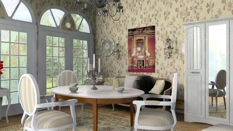 Marianne - Rustic - Living room  - by milyca8