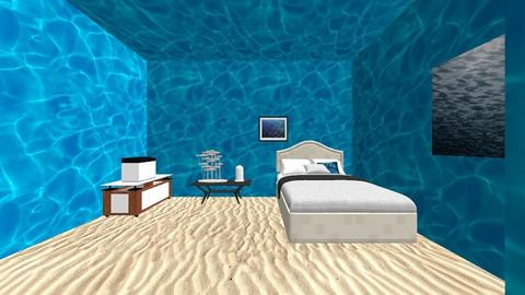 oceanic room  - Bedroom  - by jessica_109