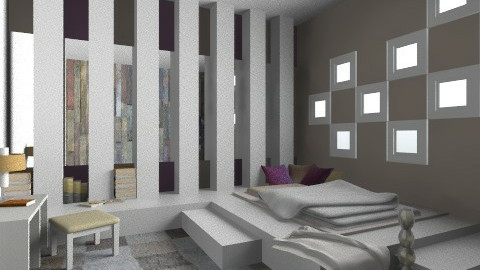 pgr - Modern - Bedroom  - by idna