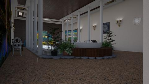 Spg Cty Mansion Pool - Glamour - Bathroom  - by alonatech_2nd