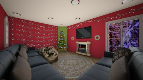 The Christmas Spirit - Living room - by Shyista