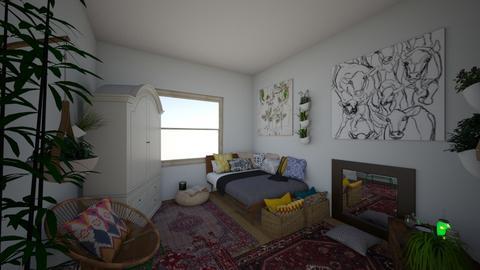 My Vision - Rustic - Bedroom  - by miaduclos