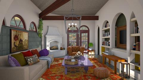 Tea and books - Global - Living room  - by augustmoon