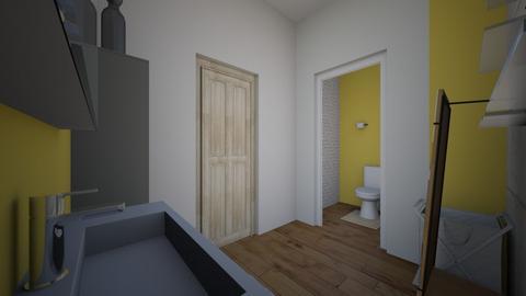 half bath - Bathroom - by izzyluck18