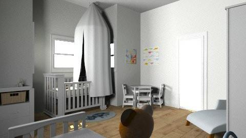 girly nursery - Modern - Kids room  - by Kerissa Montgomery