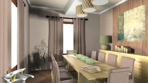Dolgozo - Dining room - by ozsvatgabi