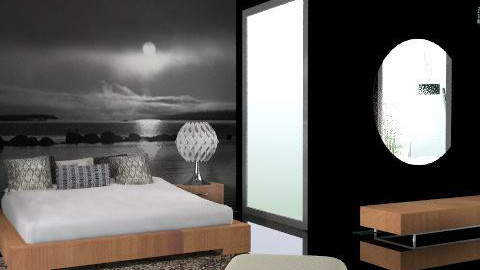 night - Minimal - Bedroom  - by chania