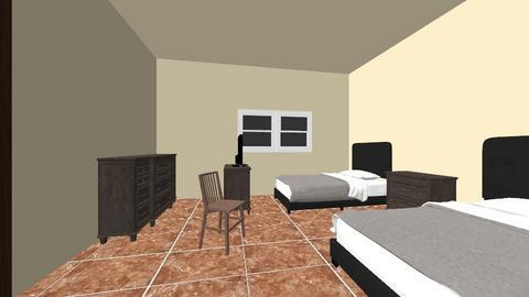 habitacion 2 - Retro - by esmenette145