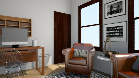 office 1 - Rustic - Office  - by rachelstephenson