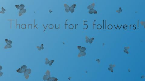Thanks for 5 followers - by slothsarethebest