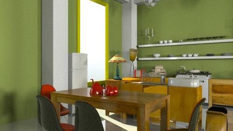 Kitchen corner - Eclectic - Kitchen  - by mrschicken